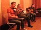 Мастер-класс по игре на кельтской флейте и скрипке (23.11.2013)